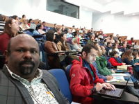 Crowded and buzzing seminar at Monash May 2019
