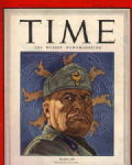 Mussolini on the Cover of Time Magazine