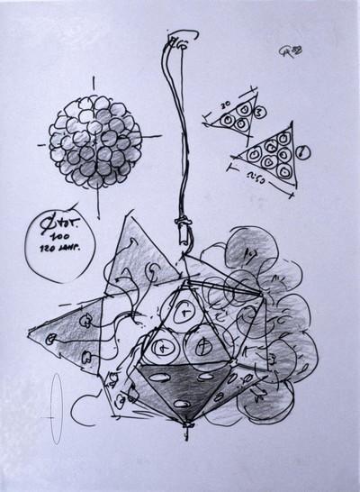 lamp sketch