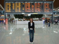 before leaving@ pudong international airport on SEP23.