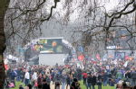March - Hyde Park rally