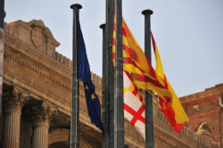 Flags, Palau Nacional