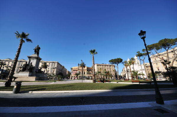 Piazza Cavour, after restyling