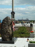 Katyn monument & national stadium