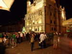 Town Hall, after the match, 2am