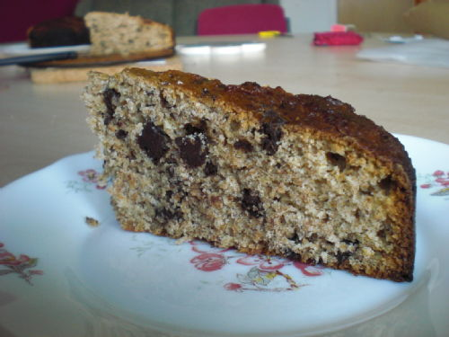 Allinsons Banana Cake with Chocolate