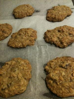 baked cornflake cookies