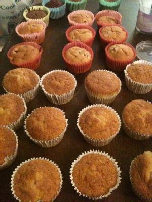 uniced cakes