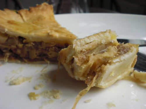 cheese and onion pie 1