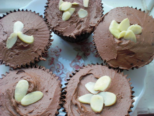 choc beetroot muffins
