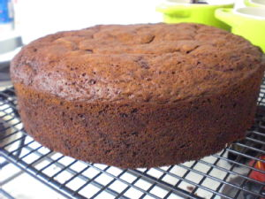 baked beetroot cake