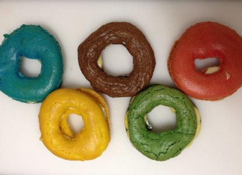 olympic macarons