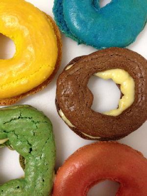 olympic macaron rings