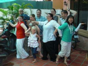 Cambodia team 2012