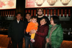 Hamid and Bing DaGe's Family