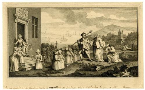 Hogarth, Children at the Foundling Hospital