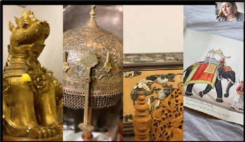 Lord Curzon's collection of Asian and imperial objects