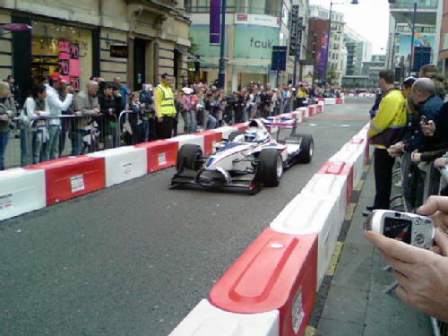 British A1GP car
