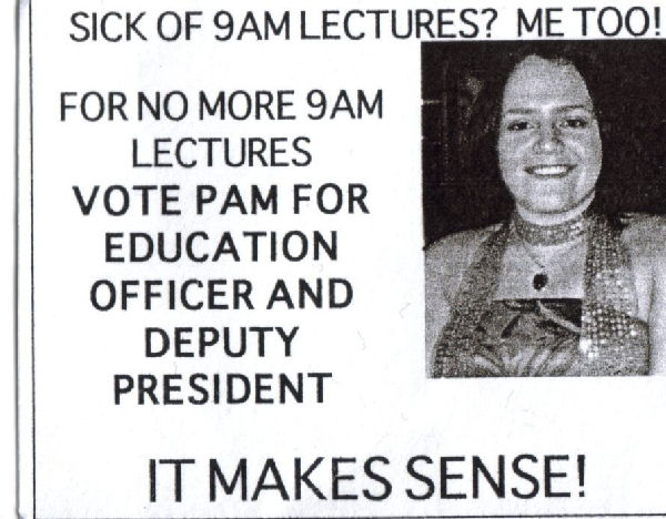 Pam's flyer