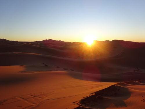 Merzouga Desert- Sunrise