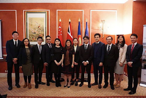 Group picture with the Singapore High Commissioner