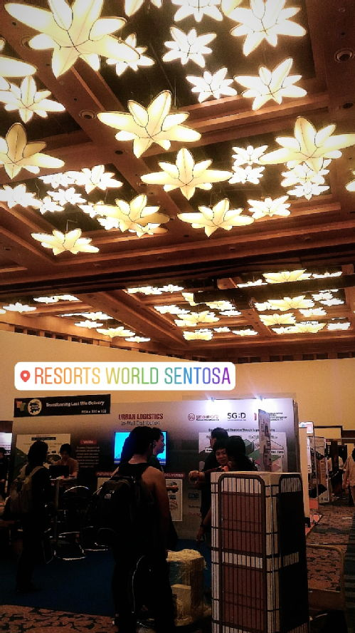 Exhibition at Resorts World Sentosa