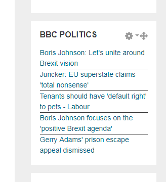 BBC Feed added