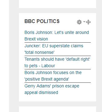 BBC Feed added
