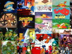 80s Cartoon collage