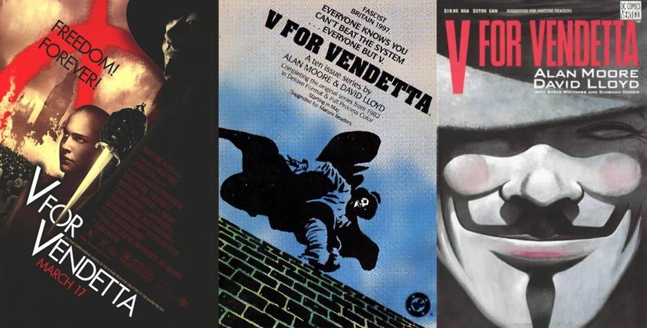 V For Vendetta Movie Cover All 2 images ta...