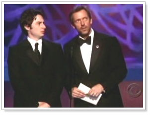 Emmy awards screengrab