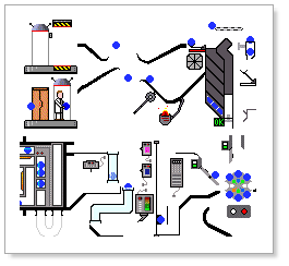 blue machine animation