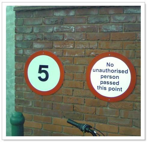 Ungrammatical signage