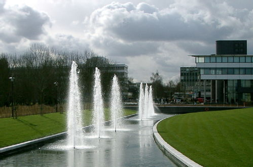 The fountain as it first was when inaugurated.