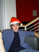 Alex as an elf (admittedly this isn't from new year but it's still classic)