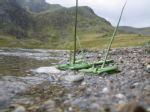 Taught pupils to make boats out of Soft Rushes in the mountains