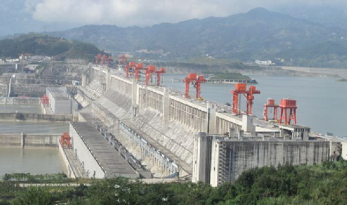 Three Gorges Dam Panorama