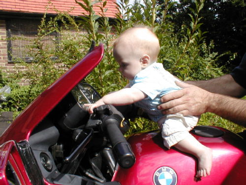 Racer boy Jacob