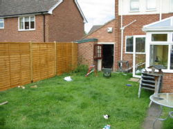 05: New fence