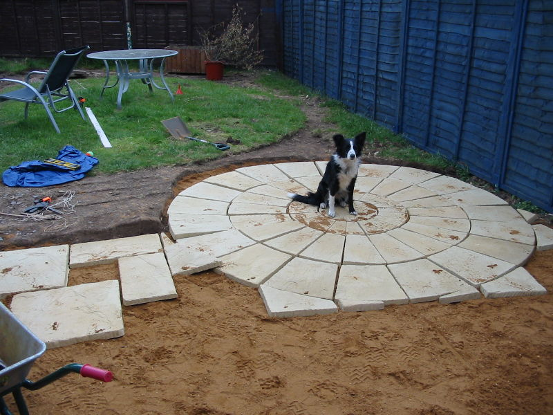 Lovely 24: Dry Laying The Patio