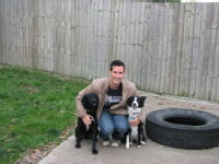 Zeno/Gizmo, me and Maggie