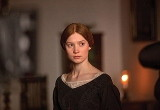 Photo from the 2011 film version of Jane Eyre showing the lead character