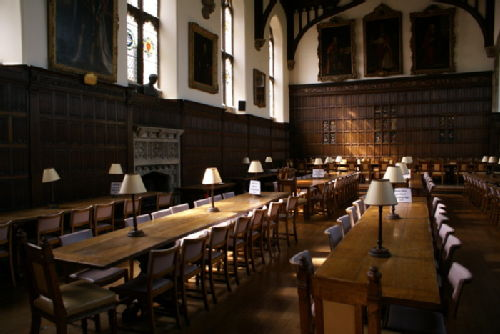 Image. Library. Magdalen College Oxford University