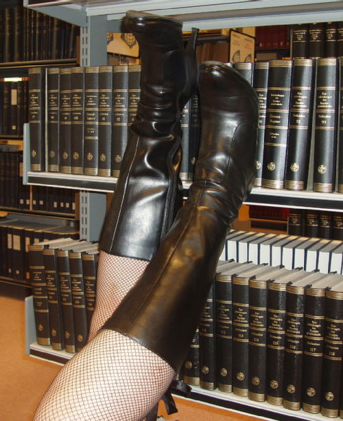 Library boots