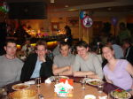Table 1 - Tim, Andy, Tebay, Matt and Lu