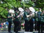 The band contesting 2 - the tubas