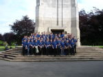 The band by the Memorial - 1