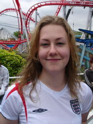 My hair, having dried off slightly on Maelstrom