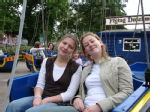 Rachel and me on the Pirate boat thing