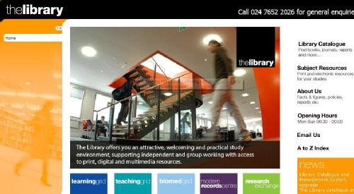 new lib page